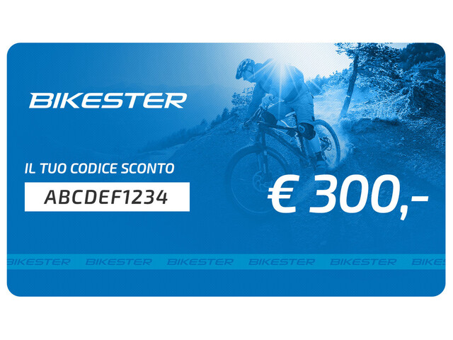 Bikester Carta regalo 300 €